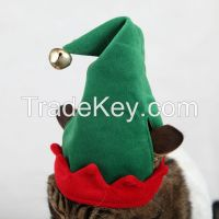 New 2014 christmas winter pet dog clothes warm coats dog jacket fleeces for dog cat christmas elf pet suit costume pet gift