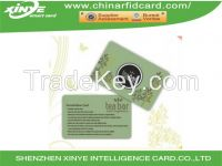 Plastic smart card sharing
