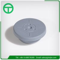 32mm Butyl rubber stopper  Aluminum caps