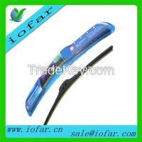 car front of windshield wiper