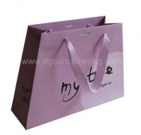 Elegant Apparel Shopping Bag