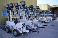 US Made - Linktower 7mt (4*400W) Metal Halide Portable Light towers
