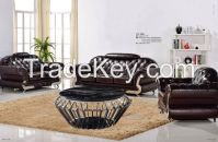100% imported first grain leather sofa ( 1 + 2 +3 Seat set)