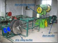 Professional Manufacturer produce Razor wire making machine / Best price Concertina Wire Machine