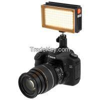 LED98 on camera Light 5600K daylight with battery LED98A Fotodiox photo video lighting