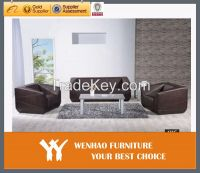 modern style office furniture genuine leather office sofa