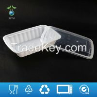 Disposable PP5 Plastic Food Container (PL-68) for Microwave & Takeaway Packaging