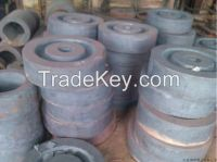 forged crane wheel AISI4140(42CrMo)