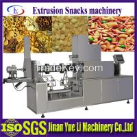 Crispy Cheese Flavored Puffed Snack Food Processing Machines