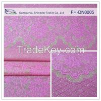 Shineder French lace fabric African lace fabrics guipure lace fabric 100% composite nylon lace fabric for garment FH-DN0005