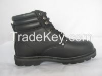 military boot with good quality rubber sole