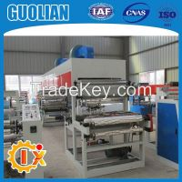 GL-1000B Printing coating slitting and rewiding in one bopp gum tape machine