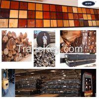 exotic natural veneer and timber/lumber