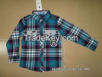 spring/autumn kids wear boy's long sleeve shirt