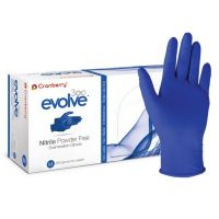 Nitrile Power Free Examination Glove, Cranberry, 300pcs per box, disposable protective glove