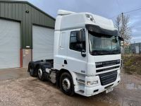 Cheap used DAF CF 85.460 6  2 MID LIFT TRACTOR UNIT