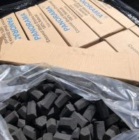 COCONUT SHELL CHARCOAL, SILVERY CHARCOAL