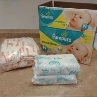 Baby diaper sale / small and large baby diapers Medium