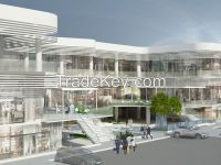 Shops, coffee shop for rent in Plaza 2 Business Center