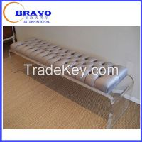 Acrylic long bench