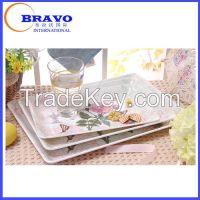 Melamine serving trays&plates