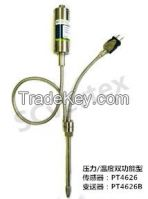 Plastic machinery PT4626 high temperature melt pressure transducer