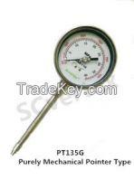 PT135G Purely Mechanical Pointer Type Melt Pressure Gauge