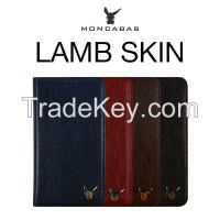 MONCABAS LAMBSKIN DIARY GENUINE LEATHER CASE
