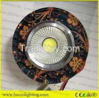 big square crystal downlight mr16 lampholder
