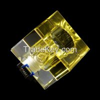 China Shenzhen cheap prices fancy crystal indoor ceiling led down lamp