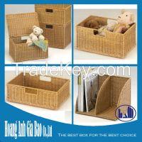 Rattan box