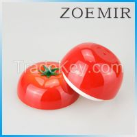 2016 new style tomato shape  cosmetics cream empty jar  face care container