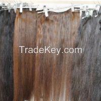 Dlinnie Tressi dlya Narashivaniya Natural Wefts Hair