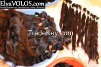 Natural Remy Dark Brown Human Hair Extensions