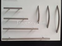Excellent polished stainless steel kitchen cabinet handle