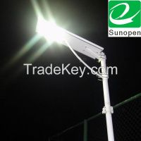 30w all in one/integrated solar led street lights
