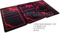 Romany Washable Rugs Gypsy Bride Rope & Bow Design