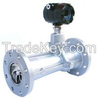 Intelligent Gas Precession Vortex Flowmeter