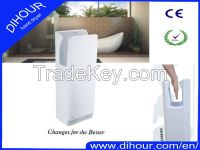 High Speed Automatic Jet Hand Dryer Less Energy ABS Plastic