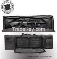 """39"""" Tactical Gun Case With Double Magazine Pouch"""