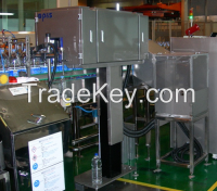 Cap sealing and Filled level Inspection machine for Filled bottle