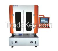 Linear type Neck Finish and Bottom Inspection machine for Glass Bottle