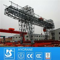 Double Girder/Beam Gantry/Door Crane with Hook or Hoist