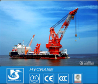 Slewing Jib Feature Single and Four Link MQ Type Container Lifting Harbour Portal Crane for Sale