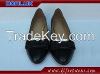 Bowknot Ladies Leather Shoes
