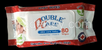 80 sheets baby wipes DOUBLE CARE