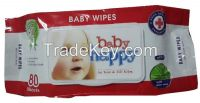 80 sheets wet wipes Baby Happy