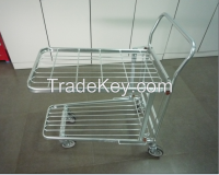 Metal Warehouse Trolley for supermarket