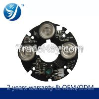 3 Leds Ir Array Led Board With MCPCB cctv camera accessories company
