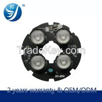 4 Leds Ir Array Led Board With 850nm led(CCTV Camera Used)